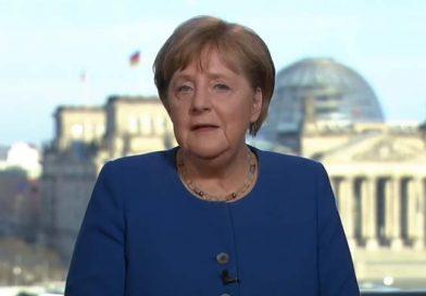 TV-Ansprache von Bundeskanzlerin Angela Merkel zur Corona-Krise